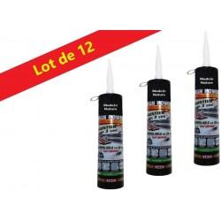 Store Venitien Alu 25Mm Blanc 75x175cm