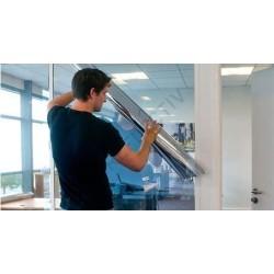 Dalles autoadhésives senso design gerflor Black tile 30,5x30,5cm