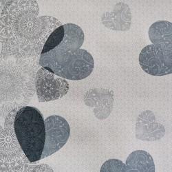 Embrasse barrette voilages et rideaux Feuille Scandinave Grise 244493