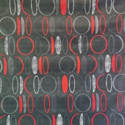 Tapis grattant gris en PVC 100% recyclable imitation gazon gris 18 mm