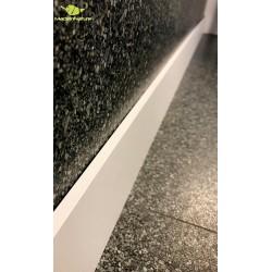 Paillasson idéal pour zone abrité, de MadeInNature® Motif Damier noir